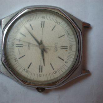 часы Луч кварц рабочие позолоченный мех 18042