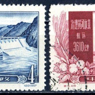 Китай. Реки (серия) 1957 г.