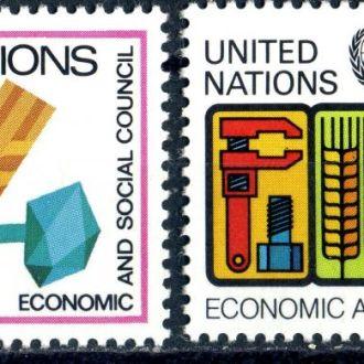 ООН (Нью-Йорк) Соцполитика (серия) ** 1980г.