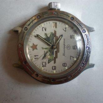 часы Восток Командирские автомат рабочие 0303