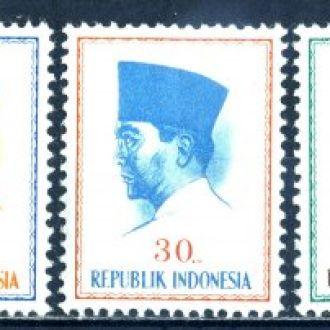 Индонезия. Президент** 1964 г.
