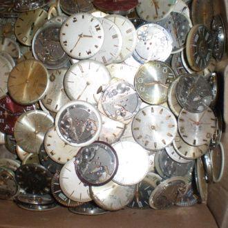механизмы на часы Полет плоские 70 шт - 20 грн 1 ш