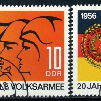 ГДР.  Армия (серия) 1976 г.