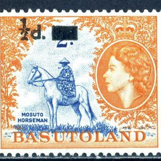 Басутоленд (Лесото). Всадник (серия)** 1959