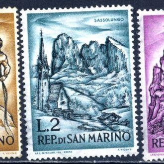 Сан Марино. Природа ** 1962 г.