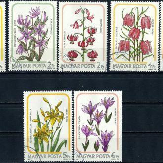 Венгрия. Цветы (серия) 1985 г.