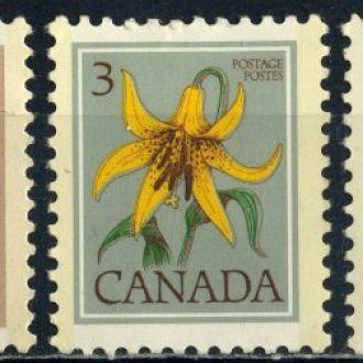 Канада. Цветы * 1977 г.