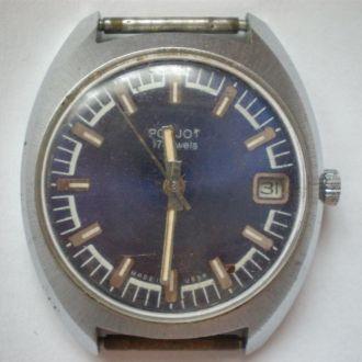 часы Полет интересная модель как новые идут 0203