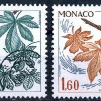 Монако. Растения (серия)** 1980 г.