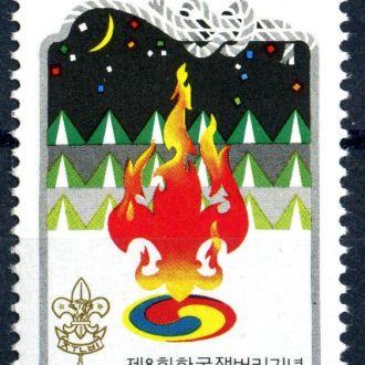 Корея Республика. Символика №2 (серия)** 1990г.