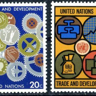 ООН (Нью-Йорк) Символика (серия) ** 1983г.