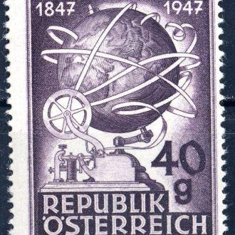 Австрия. Связь(серия)** 1947 г.