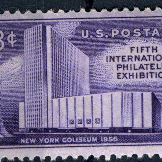 США. Филвыставка (серия) ** 1956 г.