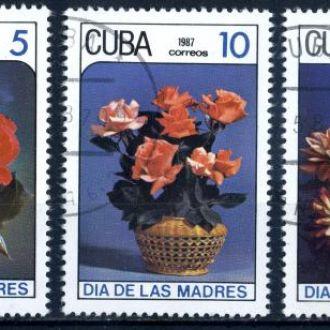 Куба. Цветы 1987 г.