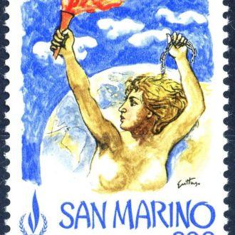 Сан Марино. Годовщина (серия) 1978 г.