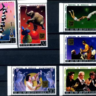 КНДР. Цирк (серия)** 1987