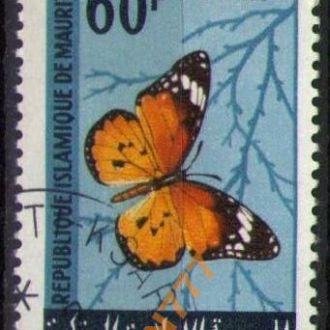 Мавритания 1966 Фауна Бабочки концовка