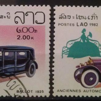 марки Лаос техника автомобили