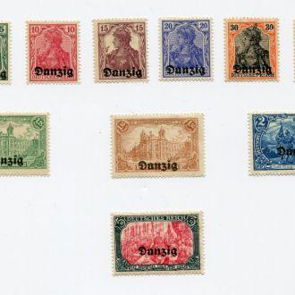 ГЕРМАНИЯ 1920 * ДАНЦИГ АРХИТЕКТУРА