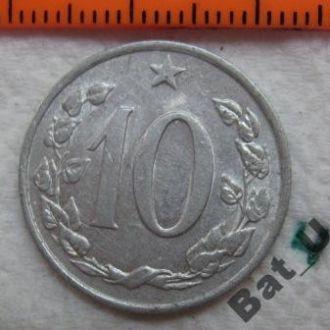 ЧЕХОСЛОВАКИЯ, 10 геллеров 1967 года.