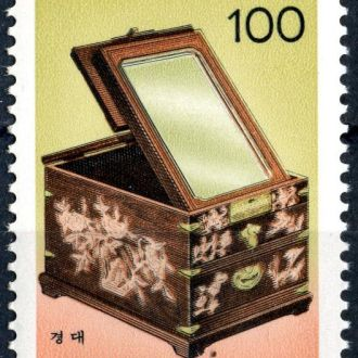 Корея Республика. Шкатулка (серия) ** 1990 г.