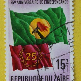 Заир. Республика Конго.Флаги.