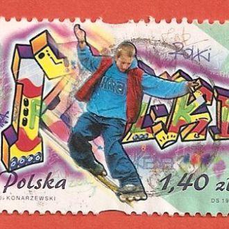 Polska Польща гаш (№398)
