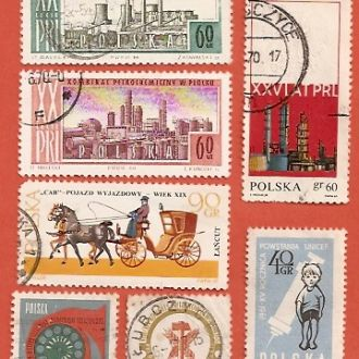 Polska Польща гаш (№429)