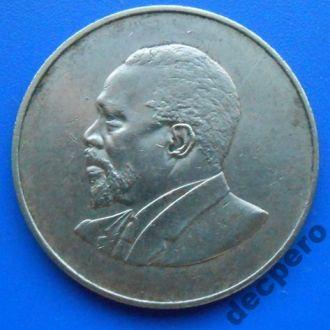 Кения,10 центов,1966 год .