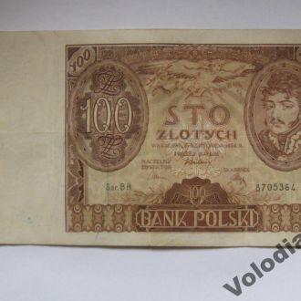 100 злотих 1934. Польща. 100 злотых.