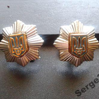 ZN эмблемы МВД Украины, пара