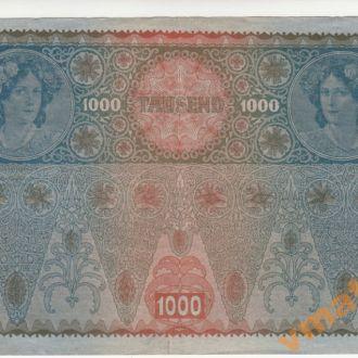 АВСТРИЯ 1000 крон 1902 (1919) год