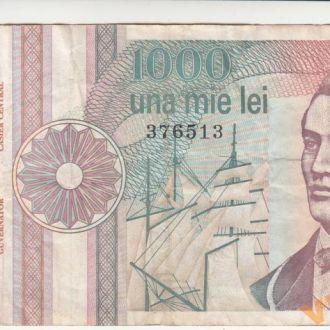 РУМЫНИЯ 1000 лей 1991 год
