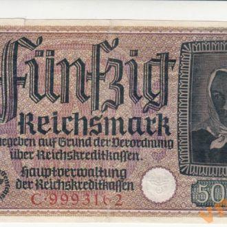 Германия 50 рейхсмарок 1940-1945 год