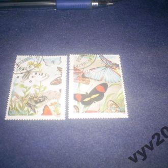 Сан-Томе и Принсипи-1989 г.-Бабочки