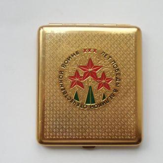 Портсигар 30 лет Победы ВОВ СССР Состояние-Люкс !!