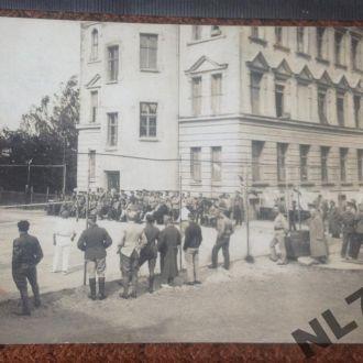 Лагерь военнопленных офицеров Гнаденфрей теннис 1