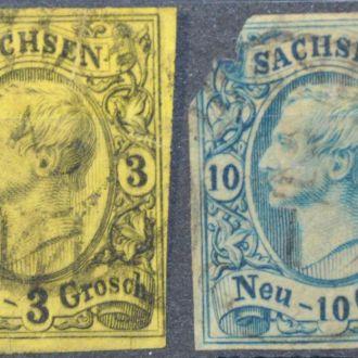 Cаксония 1855
