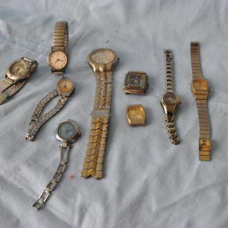 Часы наручные на запчасти