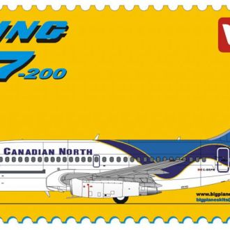BPK - 7202 - Boeing 737-200 Canadian North - 1:72
