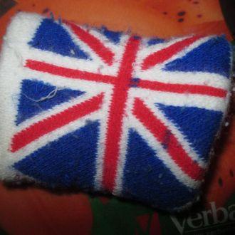напульсник британский флаг на руку браслет повязка