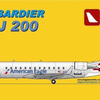 BPK - 7208 - Bombardier CRJ 200 - 1:72