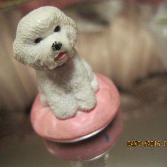 сувенир игрушка собака статуэтка фигурка болонка