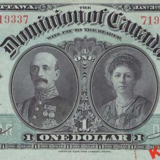 Канада 1 доллар 1911 год. КОПИЯ