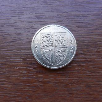 Великобритания 1 фунт 2014 Великобритания