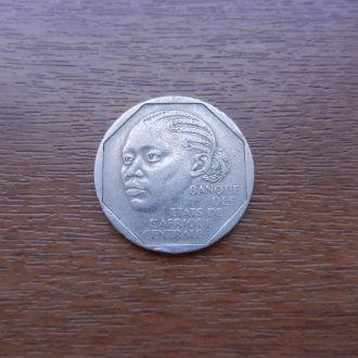 Габон 500 франков 1985 Редкая