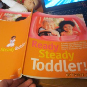 READY Steady Toddler книга на английском британия