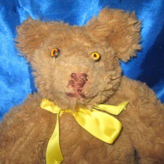 Шарнирный мишка Тедди громко рычит ГДР