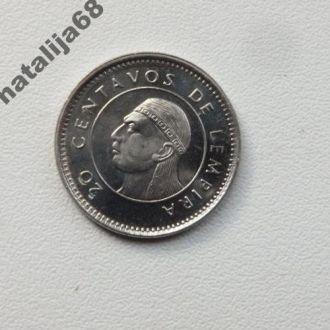Гондурас 1999 год монета 20 сентаво !