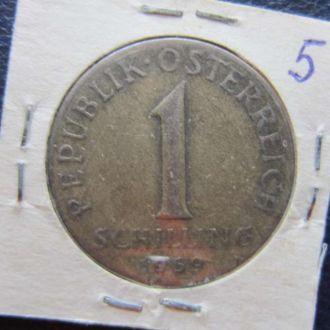 1 шиллинг Австрия 1959